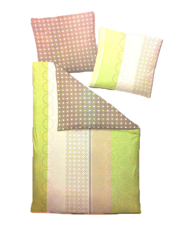 Castell bettw sche garnitur wendebettw sche linon gr n for Fenster 70x90