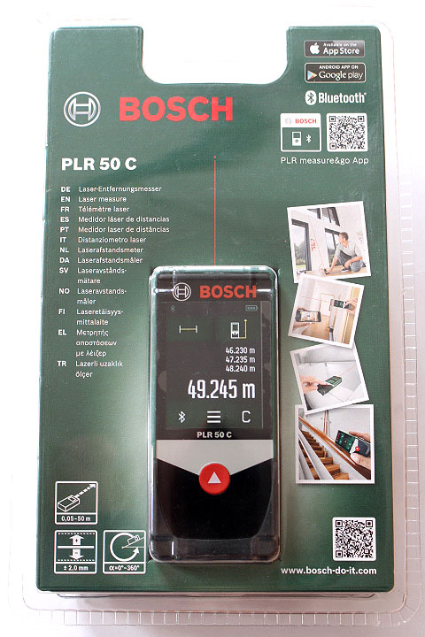 bosch plr 50 c laser entfernungsmesser neu ovp ebay. Black Bedroom Furniture Sets. Home Design Ideas