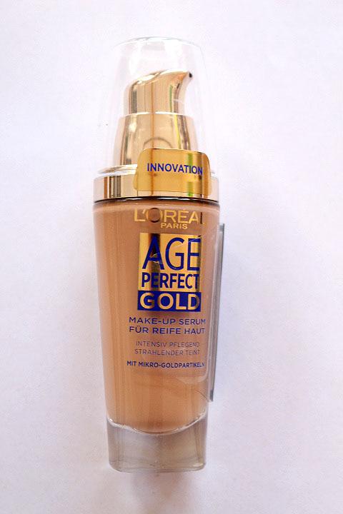 l 39 or al paris age perfect gold make up serum f r reife. Black Bedroom Furniture Sets. Home Design Ideas