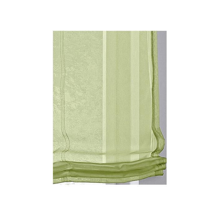 1 x raffrollo mit schlaufen gr n b 100 cm h 140 cm 2 wahl k255. Black Bedroom Furniture Sets. Home Design Ideas
